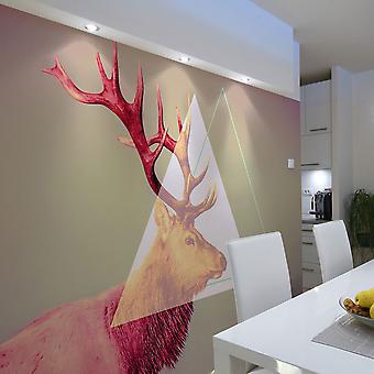 Wallpaper - ciervos (patrón gráfico)