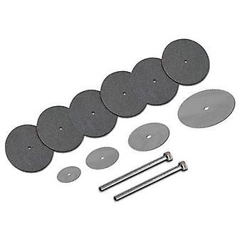 Cutting disc set 10-piece 22 mm 1.7 mm Donau Elektronik 1739 1 Set