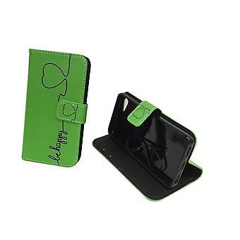 Teléfono móvil Funda para móvil Lenovo ZUK Z2 ser verde feliz