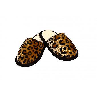 Slipper animal patterns Cheetah fur 36/37
