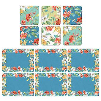Pimpernel Maui Placemats and Coasters
