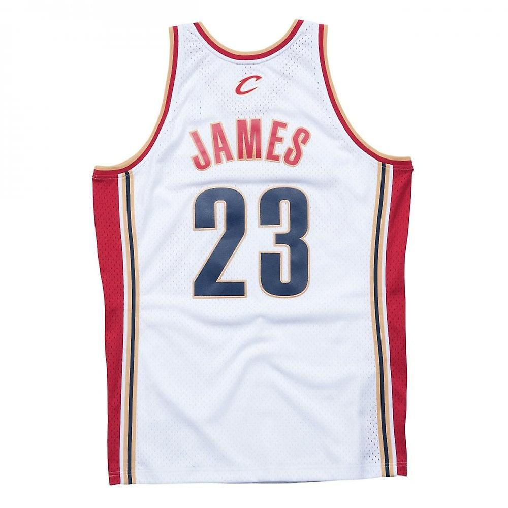 best service 74d84 0b0aa Mitchell & Ness Nba Cleveland Cavaliers Lebron James 2003-2004 Swingman  Jersey White