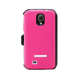 Body Glove ToughSuit Rugged Series Case for Samsung Galaxy S4 (Raspberry/White)
