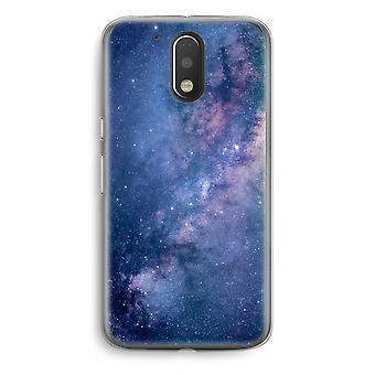 Motorola Moto G4/G4 Plus Transparent Case - Nebula