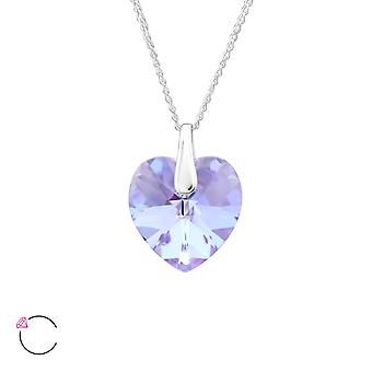 Heart crystal from Swarovski® - 925 Sterling Silver Necklaces - W27745X