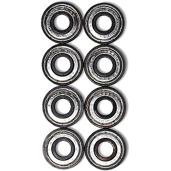 Diamond Supply Co Silver Diamond Rings Hella Fast Abec7 Skateboard Bearings