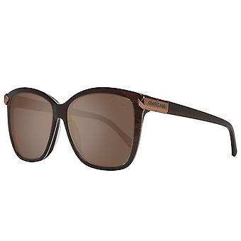 Roberto cavalli ladies Sunglasses brown Butterfly