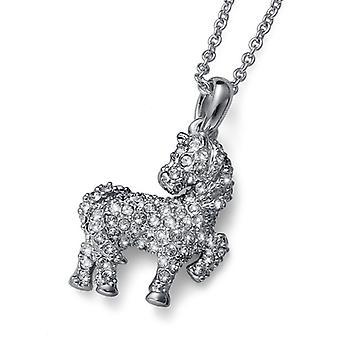 Oliver Weber hänge Horsey Rhodium Crystal