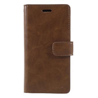 iPhone X Mercury Goospery Mansoor wallet pouch-Brown