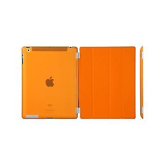 Case/Cover, iPad (2017) / iPad Air + shell harde kunststof oranje