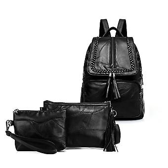 The backpack, shoulder bag, cosmetic bag, genuine lambskin 1049