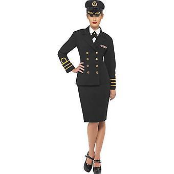Vestido de traje de oficial de Marina de guerra, Reino Unido 12-14