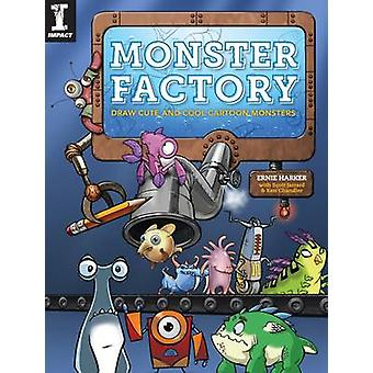 Monster Factory - Draw Cute and Cool Cartoon Monsters by Ernie Harker