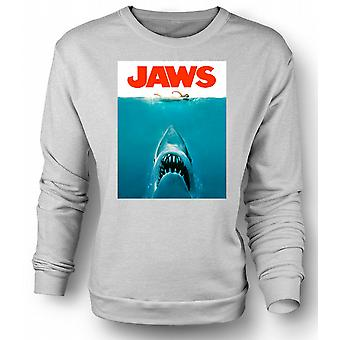 Womens Sweatshirt Jaws haien