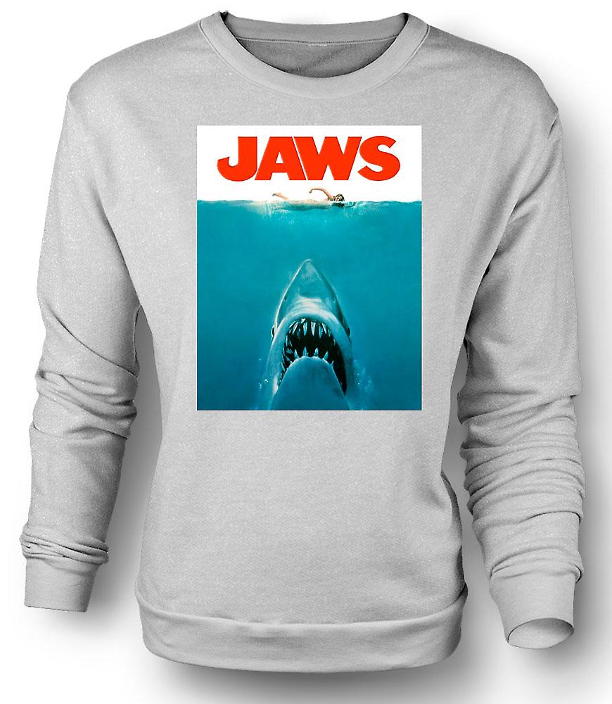 Mens Sweatshirt kaken Shark