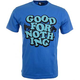 Money Clothing Good For Nothing Blue T-shirt