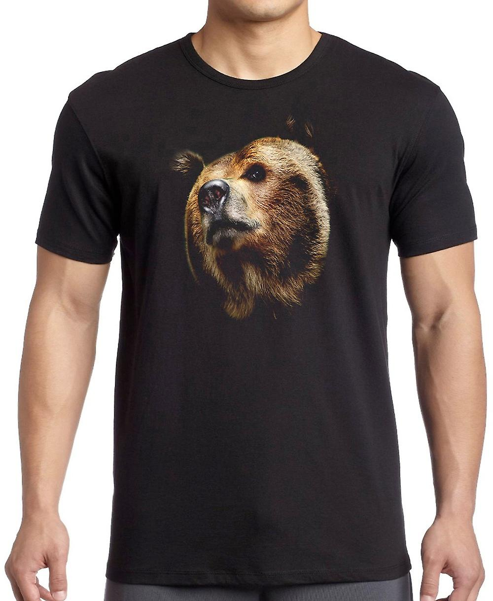 Brown Bear Portrait - coolen Predator Kinder T Shirt