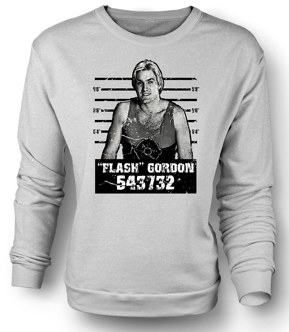 Mens Sweatshirt Flash Gordon - Film - Fahndungsfoto