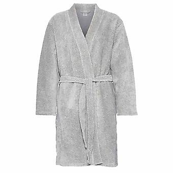 Calvin Klein Women Calvin Klein Women Quilted Robe, Grey, X-Small - Small