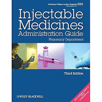 UCL szpitale wstrzykiwania leków Administration Guide