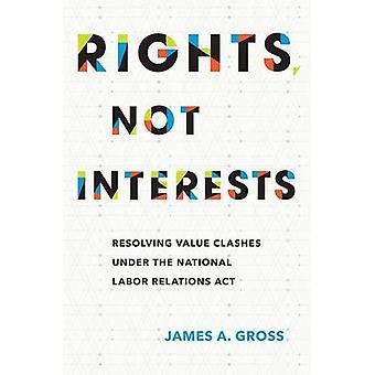 Rettigheter, ikke interesser: Løse verdien sammenstøt under National Labor Relations Act