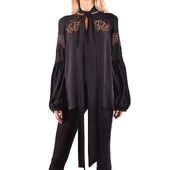 Givenchy Black Silk Blouse