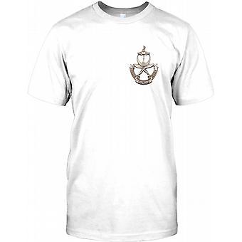 Britiske hæren Gurkha - infanterikompanier - brystet Logo Mens T-skjorte