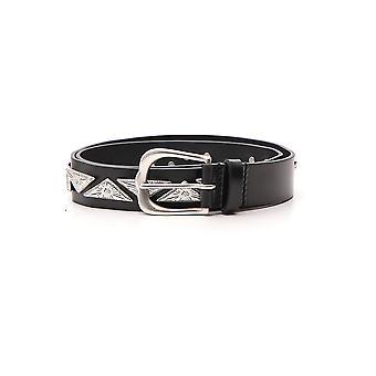 Isabel Marant Black Leather Belt