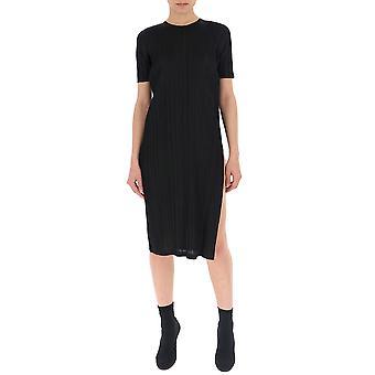 Issey Miyake Black Cotton Dress
