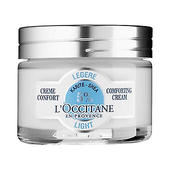 L ' Occitane Shea luz reconfortante crema 1.7oz / 50ml