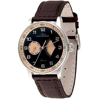 Zeno-watch montre XL rétro rétrograde P592-g1-6