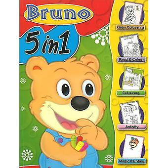 Bruno 5 in 1 by Sterling Publishers - 9788120760622 Book