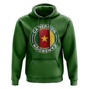 Cameroon Football Badge Hoodie (Green)