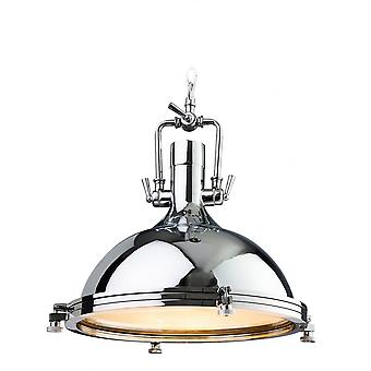Firstlight Morccan Indian Chrome Ceiling Hanging Pendant Light