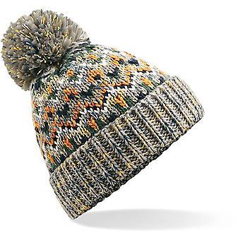 Beechfield - Blizzard Bobble Beanie Hat