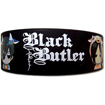 Wristband - Black Butler - New Ciel & Sebastian Cow Toys Licensed ge54211