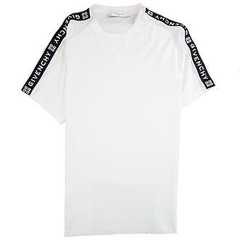 Givenchy Tape Logo T-shirt Weiß