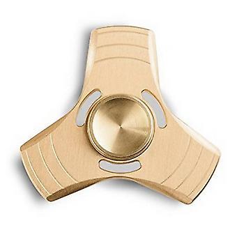 Hånd spinner metal/aluminium guld