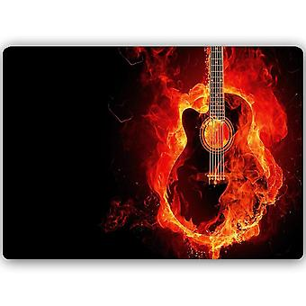 Metal Print, Guitar Burning