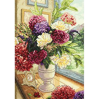 Gold Collection zomer boeket geteld Cross Stitch Kit-11