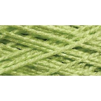 Needloft Craft Yarn 20 Yard Card Bright Green 510 61