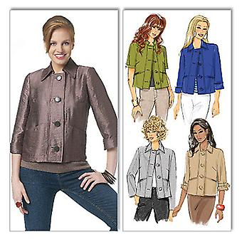 Misses' Jacket  Aa 6  8  10  12 Pattern B5617  Aa0