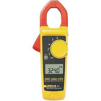 Current clamp, Handheld multimeter digital Fluke Fluke 324 Calibrated to: Manufacturer standards CAT III 600 V, CAT IV