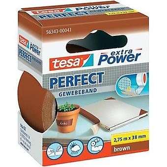 Cloth tape tesa tesa® Extra Power Brown (L x W) 2.75 m x 38 mm