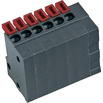 PTR 54791120421D, 12-Way PCB Spring Terminal Block 2.54mm Basalt grey