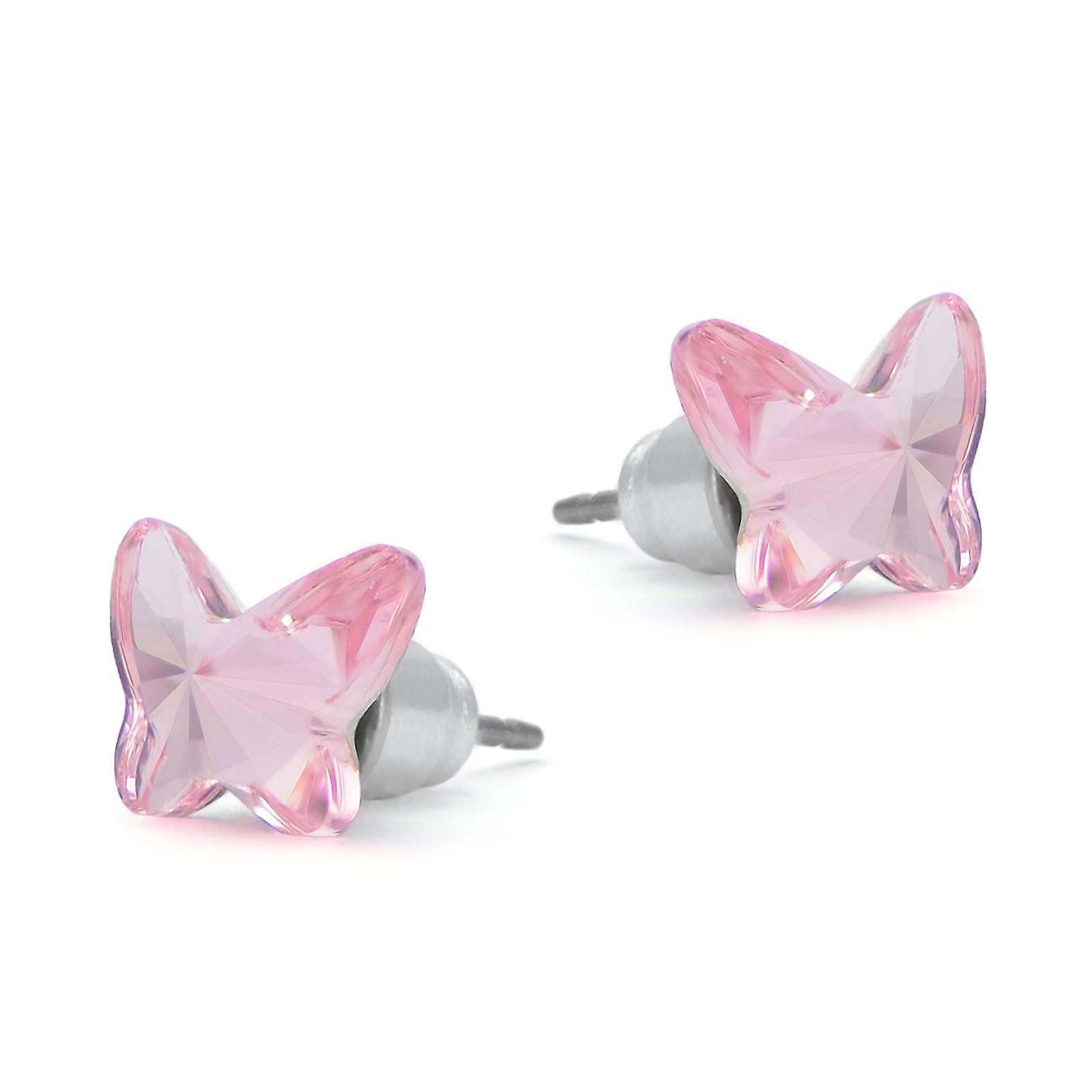 Butterfly stud earrings EMB 4.1