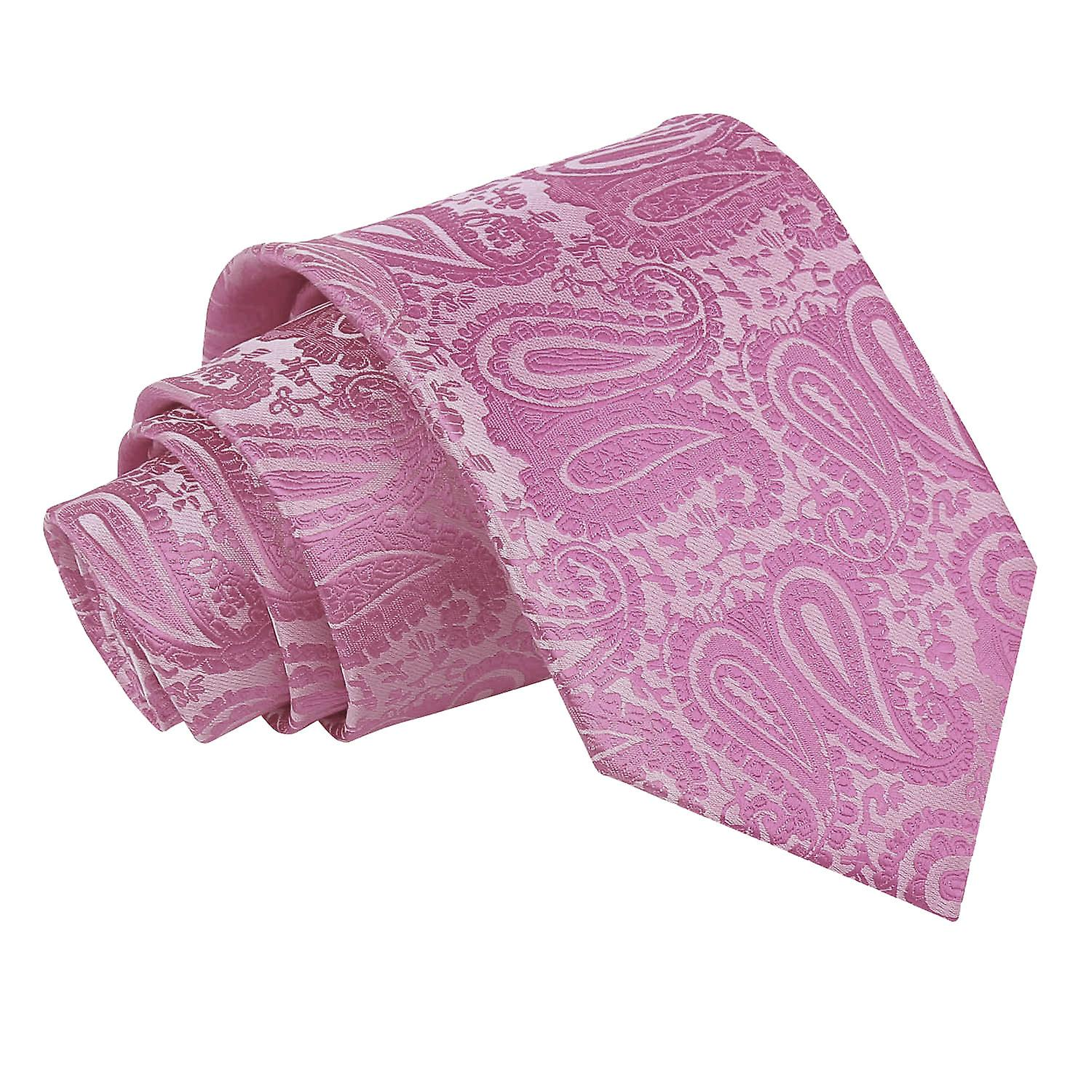 Paisley Baby Pink Tie
