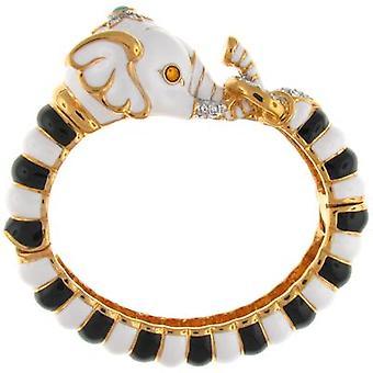 Kenneth Jay Lane Elephant Head Bracelet