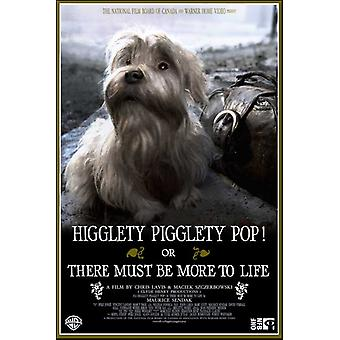 بيجليتي هيجليتي يطفو على السطح أو هناك يجب أن تكون أكثر من ملصق الفيلم الحياة (11 × 17)