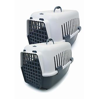 Plastic Pet Carrier Medium 48x33x33cm
